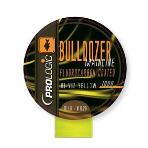 Леска Bulldozer FC Coated Mono Fluo Yellow 1000m 12lbs 0.31mm