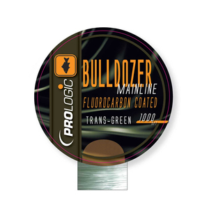 Леска Bulldozer FC Coated Mono Trans Green 1000m 12lbs 0.31mm