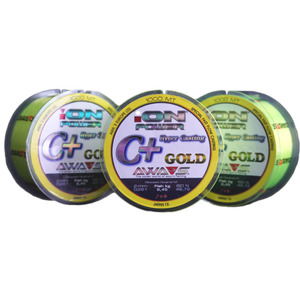 Леска ION POWER C+ HYPER CASTING Gold 0,234mm 1000mt