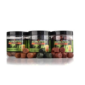 Пелетс насадочный просверленный SuperFeed Hook Fatty Pellet 14 mm - X-Berry